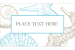Make custom projects feel like a beach vacation with pre-designed Beach Blue templates.