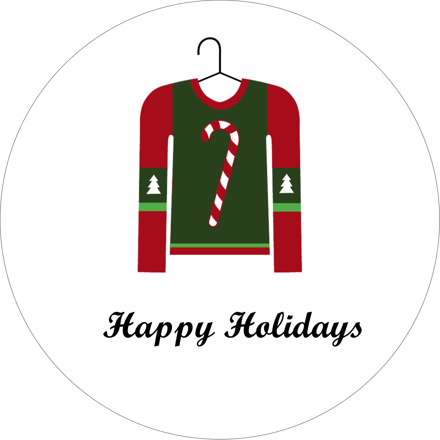 Ugly Sweater Predesigned Template For Your Next Holiday Project Avery