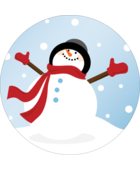 Bring the joy of the winter season to projects with pre-designed Frosty Snowman templates.