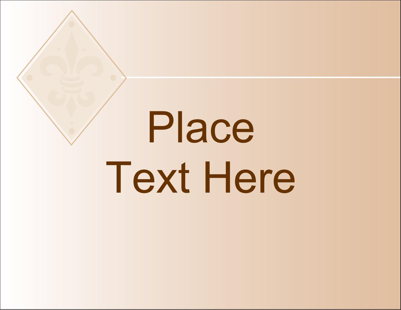 "4¼"" x 5½"" Postcard - Beige Diamond"