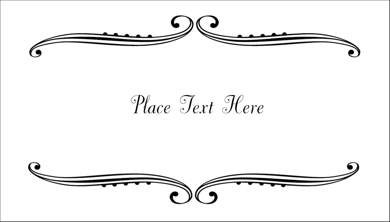 "2"" x 3½"" Business Card - Martha Stewart's Whimsical Wedding"