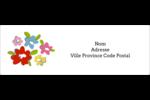Fleurs printanières Intercalaires / Onglets - gabarit prédéfini. <br/>Utilisez notre logiciel Avery Design & Print Online pour personnaliser facilement la conception.