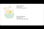 Panier de lapin Étiquettes d'expédition - gabarit prédéfini. <br/>Utilisez notre logiciel Avery Design & Print Online pour personnaliser facilement la conception.