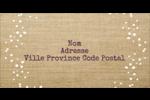 Toile à frange Étiquettes de classement écologiques - gabarit prédéfini. <br/>Utilisez notre logiciel Avery Design & Print Online pour personnaliser facilement la conception.