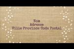 Toile à frange Étiquettes Voyantes - gabarit prédéfini. <br/>Utilisez notre logiciel Avery Design & Print Online pour personnaliser facilement la conception.
