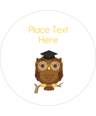 Add whimsical style to your project with pre-designed Academic Owl Graduation templates.