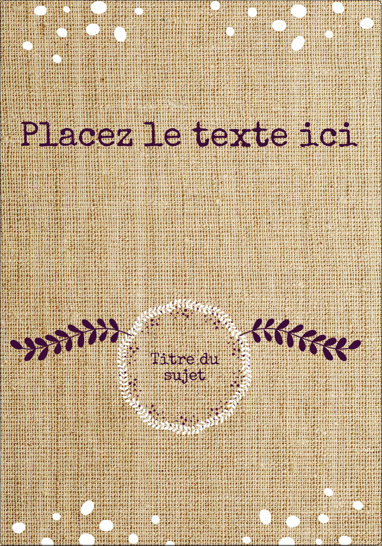 """⅔"""" x 1¾"""" Étiquettes D'Adresse - Toile à frange"""