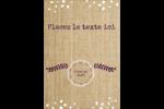 Toile à frange Étiquettes D'Adresse - gabarit prédéfini. <br/>Utilisez notre logiciel Avery Design & Print Online pour personnaliser facilement la conception.