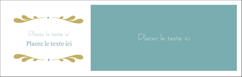 """4¼"""" x 5½"""" Cartes Pour Le Bureau - Filigrane"""