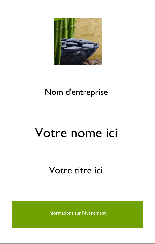 2¼ x 3½ Étiquettes badges autocollants - Bien-être