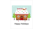 Add sweet holiday spirit to custom projects with pre-designed Gingerbread House templates.