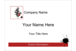 Customize personal or professional projects with pre-designed Dramatic Curlicues templates.