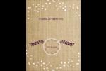 Toile à frange Cartes Et Articles D'Artisanat Imprimables - gabarit prédéfini. <br/>Utilisez notre logiciel Avery Design & Print Online pour personnaliser facilement la conception.