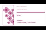 Fleurs violettes Étiquettes de classement écologiques - gabarit prédéfini. <br/>Utilisez notre logiciel Avery Design & Print Online pour personnaliser facilement la conception.