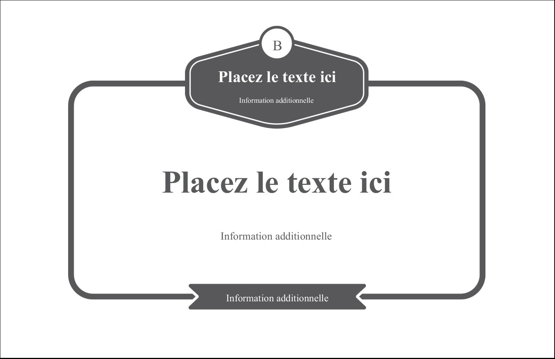 """8½"""" x 11"""" Cartes Et Articles D'Artisanat Imprimables - Logo simple"""