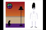Frankenstein et la mariée Cartes Et Articles D'Artisanat Imprimables - gabarit prédéfini. <br/>Utilisez notre logiciel Avery Design & Print Online pour personnaliser facilement la conception.