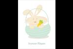 Panier de lapin Cartes Et Articles D'Artisanat Imprimables - gabarit prédéfini. <br/>Utilisez notre logiciel Avery Design & Print Online pour personnaliser facilement la conception.