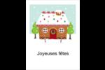 Maison en pain d'épices Cartes Et Articles D'Artisanat Imprimables - gabarit prédéfini. <br/>Utilisez notre logiciel Avery Design & Print Online pour personnaliser facilement la conception.