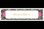 Fleurs modernes Affichette - gabarit prédéfini. <br/>Utilisez notre logiciel Avery Design & Print Online pour personnaliser facilement la conception.