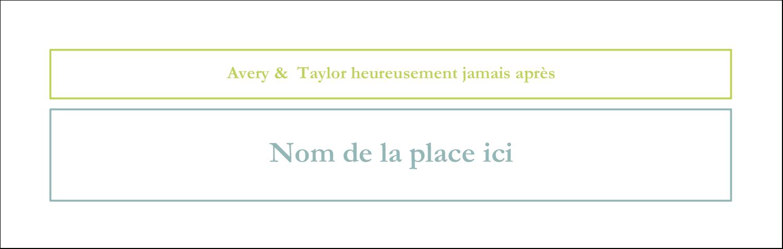 """4¼"""" x 5½"""" Carte de note - Fleurs bleues et vertes"""