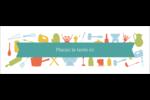 Articles de cuisine Carte de note - gabarit prédéfini. <br/>Utilisez notre logiciel Avery Design & Print Online pour personnaliser facilement la conception.
