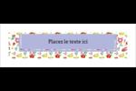 Fleurs printanières Carte de note - gabarit prédéfini. <br/>Utilisez notre logiciel Avery Design & Print Online pour personnaliser facilement la conception.