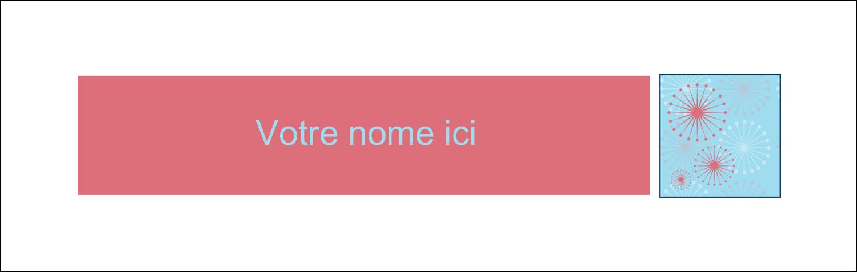 """4¼"""" x 5½"""" Cartes Pour Le Bureau - Célébration simple"""