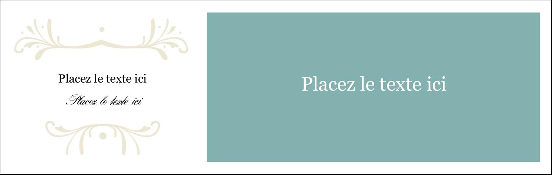 """4¼"""" x 5½"""" Cartes Pour Le Bureau - Filigrane vert"""