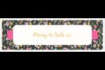 Fleurs modernes Carte de note - gabarit prédéfini. <br/>Utilisez notre logiciel Avery Design & Print Online pour personnaliser facilement la conception.