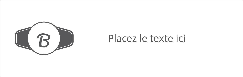 "4¼"" x 5½"" Carte de note - Logo simple"