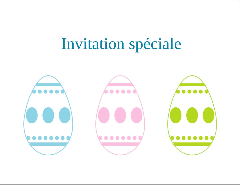 """4¼"""" x 5½"""" Cartes de notes - Trio d'œufs de Pâques"""
