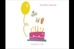 Fête d'anniversaire Cartes Et Articles D'Artisanat Imprimables - gabarit prédéfini. <br/>Utilisez notre logiciel Avery Design & Print Online pour personnaliser facilement la conception.