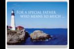 Fête des Pères Cartes de notes - gabarit prédéfini. <br/>Utilisez notre logiciel Avery Design & Print Online pour personnaliser facilement la conception.