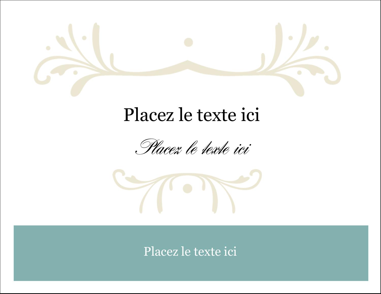 """8½"""" x 11"""" Cartes Et Articles D'Artisanat Imprimables - Filigrane vert"""