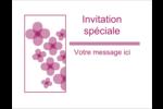 Fleurs violettes Cartes Et Articles D'Artisanat Imprimables - gabarit prédéfini. <br/>Utilisez notre logiciel Avery Design & Print Online pour personnaliser facilement la conception.