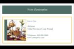 Pain et dessert Carte d'affaire - gabarit prédéfini. <br/>Utilisez notre logiciel Avery Design & Print Online pour personnaliser facilement la conception.