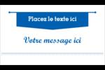 Typographie Carte d'affaire - gabarit prédéfini. <br/>Utilisez notre logiciel Avery Design & Print Online pour personnaliser facilement la conception.