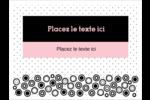 Beauté à l'état pur Badges - gabarit prédéfini. <br/>Utilisez notre logiciel Avery Design & Print Online pour personnaliser facilement la conception.