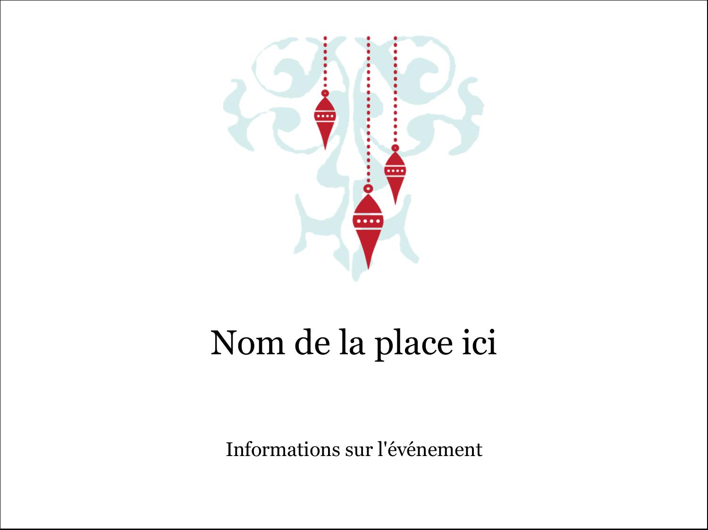 """3"""" x 4"""" Badges - Noël élégant"""