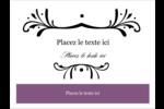 Filigrane violet Badges - gabarit prédéfini. <br/>Utilisez notre logiciel Avery Design & Print Online pour personnaliser facilement la conception.