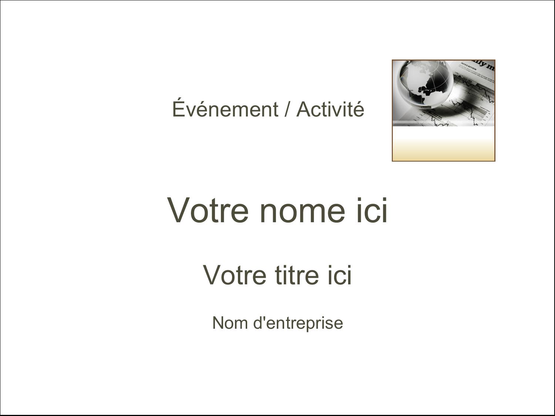 """3"""" x 4"""" Badges - Rapport financier"""