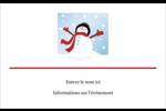 Frosty le bonhomme de neige Étiquettes badges autocollants - gabarit prédéfini. <br/>Utilisez notre logiciel Avery Design & Print Online pour personnaliser facilement la conception.