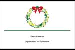 Guirlande de gui Étiquettes badges autocollants - gabarit prédéfini. <br/>Utilisez notre logiciel Avery Design & Print Online pour personnaliser facilement la conception.