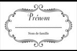 Le mariage fantaisiste de Martha Stewart Étiquettes badges autocollants - gabarit prédéfini. <br/>Utilisez notre logiciel Avery Design & Print Online pour personnaliser facilement la conception.