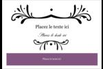 Filigrane violet Étiquettes à codage couleur - gabarit prédéfini. <br/>Utilisez notre logiciel Avery Design & Print Online pour personnaliser facilement la conception.