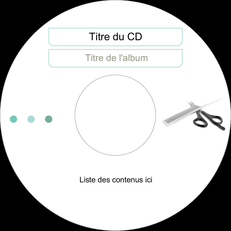 CD/DVD Étiquettes Pour Médias - Soins des cheveux