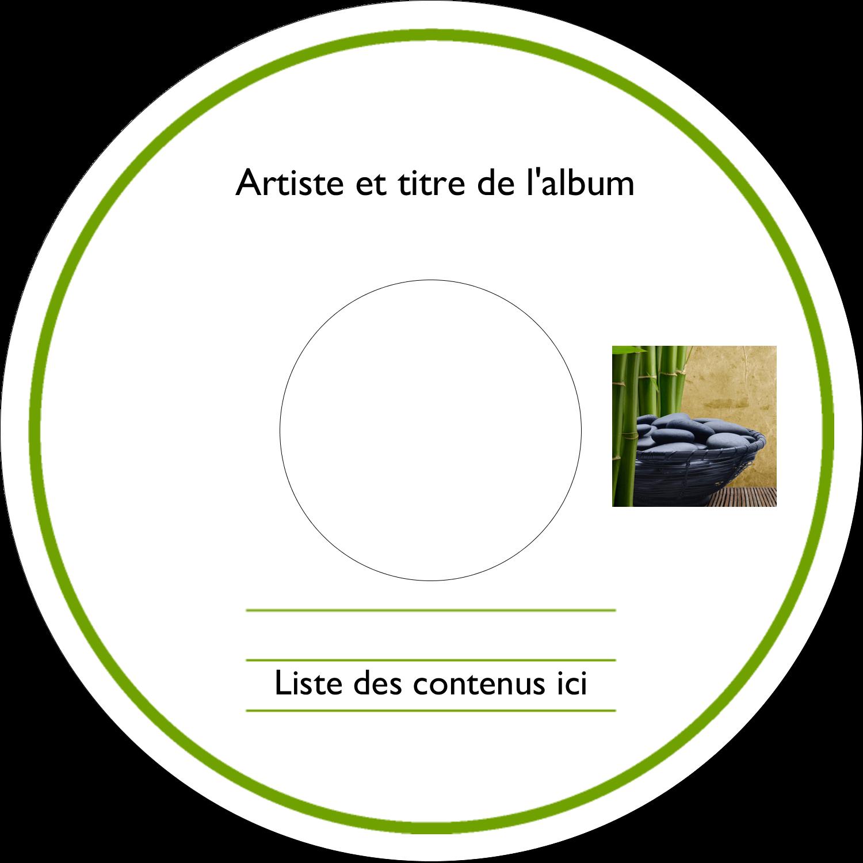 CD/DVD Étiquettes Pour Médias - Bien-être