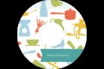 Articles de cuisine Étiquettes de classement - gabarit prédéfini. <br/>Utilisez notre logiciel Avery Design & Print Online pour personnaliser facilement la conception.