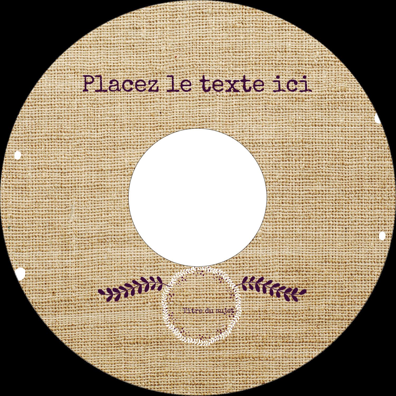 """⅔"""" x 3-7/16"""" Étiquettes de classement - Toile à frange"""