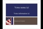 Droit patriotique Badges - gabarit prédéfini. <br/>Utilisez notre logiciel Avery Design & Print Online pour personnaliser facilement la conception.